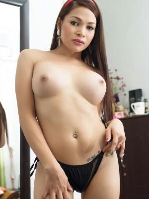 Amazing Ts Vitress Tamayo gets buck naked for you